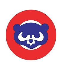 Cc07 Chicago Cubs Decal Logo 2 Color Mugs Yeti Tumbler Etsy