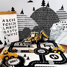 Children Kids Room Game Play Mat Baby Crawling Rug Carpet Cotton Floor Blanket Us 20 59 Banggood Mobile
