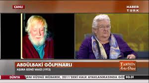 Tarihin Arka Odası - 29-30 Kasım 2014 - Abdulbaki Gölpınarlı ...