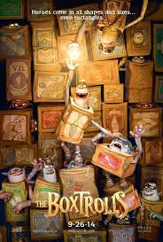 Now Playing: The Boxtrolls   The Movie Shelf