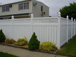 Pvc Fences Gates Double Virgin Vinyl Fencing Liberty Fence Railing