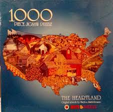 Buy The Heartland By Marylou Smith Reason Jigsaw Puzzle 1000 Piece ...