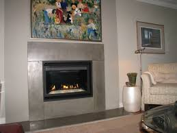 new concrete over old brick fireplace