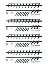 Pack Of 4 Flex Fence Versa Fence Decorative Louver System Ebay