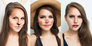 easy makeup ideas and costume