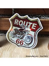 Route 66 Biker Motorcycle Hipster Racing Art Die Cut Waterproof Vinyl Decal Sticker Skullangel Unique Handmade Clothing Embroidered Patches Waterproof Stickers For Diy Projects