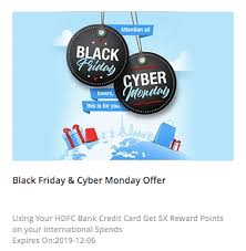 hdfc bank black friday offer 5000