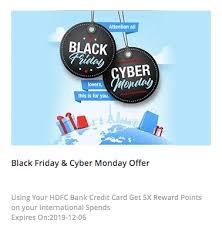hdfc bank black friday offer 5000