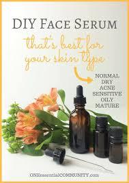 face serum recipes for dry acne