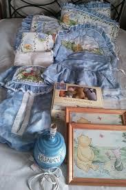 vintage disney winnie the pooh crib set