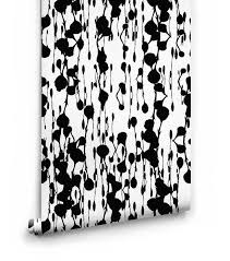 floss delight black white abstract