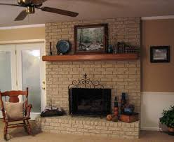 choosing paint for brick fireplace