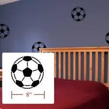 Soccer Balls Decal Boys Girls Room Decor Soccer Balls Fathead Style Wall Decals Ebay