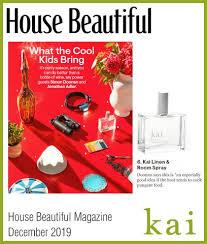 Kai Linen Room Spray House Beautiful December 2019 Kai Fragrance