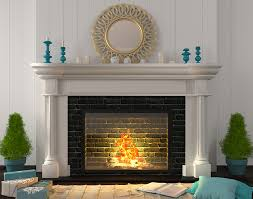 4 tips for painting a brick fireplace