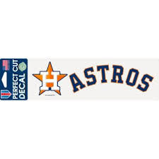 Houston Astros Decal 10in X 3in Party City