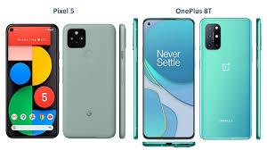 Google Pixel 5 VS OnePlus 8T - YouTube