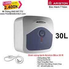 Bình Nóng Lạnh Ariston 30L Blue 30R - Tổng Kho Ariston Hà Nội