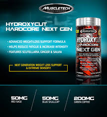 hydroxycut next gen 100 capsules