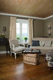 pleasant living room with vintage