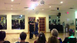 Ms. Abigail Keller and Mr. Nikolay dancing the Tango - YouTube