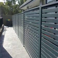 China Garden Aluminum Balcony Privacy Fence Profile Aluminium Horizontal Slat Fence China Slat Fence Fencing