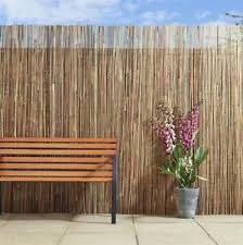 Round Bamboo Screen Fencing Roll Fence 1 8m H X 3m W Privacy Blockout Ebay