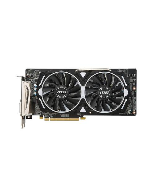 Image result for MSI RX 580 Armor 8G OC Gaming Radeon RX 580 GDDR5 8GB Crossfire VR Ready FinFET DirectX 12 Graphics Card