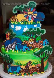 coolest safari and jungle cake ideas
