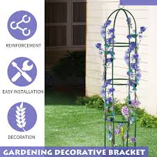 outdoor rose climbing plant frame stand