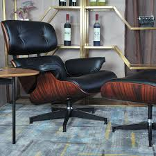 modern leather chair and upholstered