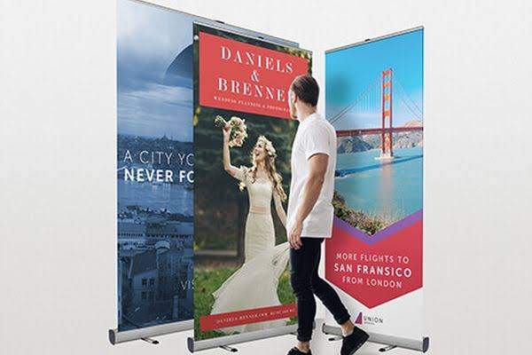 Image result for 2m wide roller banners""