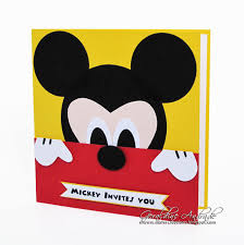 Mickey Mouse Invitation Invitacion De Mickey Mouse Con Imagenes