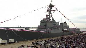 Navy Commissions USS Ralph Johnson (DDG 114) - YouTube