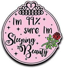 Amazon Com More Shiz I M 99 Sure I M Sleeping Beauty Rose Princess Vinyl Decal Sticker Car Truck Van Suv Window Wall Cup Laptop One 5 Inch Decal Mks0659 Automotive