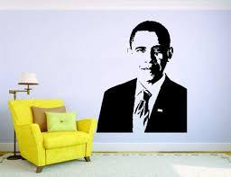 Obama President Wall Mural Vinyl Decal Sticker Decor Room Usa America Politic For Sale Online