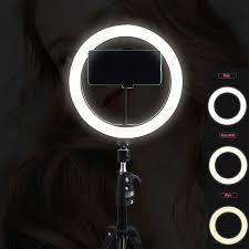 Gậy Chụp Hình Selfie Tối Màu Gỗ Vòng Đèn 210CM Đứng Vòng Ánh Sáng Chân Máy  Mờ Chụp Ảnh Đèn LED Chiếu Sáng Cho Youtube TikTok NE007|