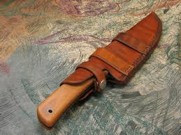 leather knife sheath pattern