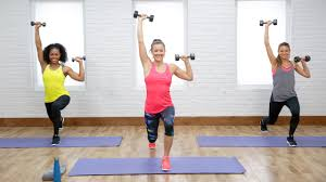 45 minute workout with weights to boost