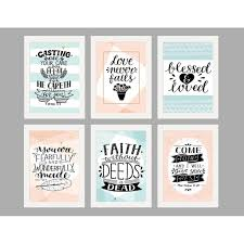 framed quotes home decor wall arts batch