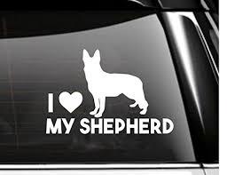 Amazon Com German Shepherd Car Decal Dog Lover Ipad Decal Macbook Decal Tablet Decal Vinyl Decal Window Decoration Handmade