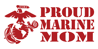 Proud Usmc Mom United States Marine Corps Matte Indoor Outdoor Vinyl Decal Purchase This Product Along With All Of Our Other Spectacul Usmc Mom Marine Mom Usmc