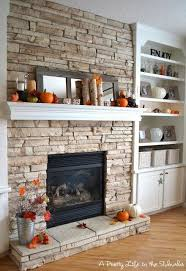 10 brick and stone fireplaces home