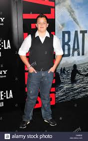 Noah Munck at arrivals for BATTLE: LOS ANGELES Premiere, Regency ...