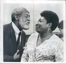 1975 Actors Esther Rolle & Arnold Johnson Press Photo | Historic ...
