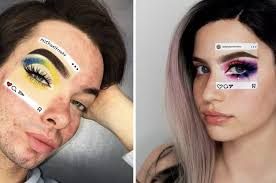 are turning viral memes into eye makeup