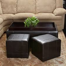 tufted round ottoman living room