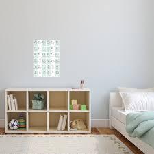 Abc Alphabet Kids Fabric Wall Decal A Creative Hart
