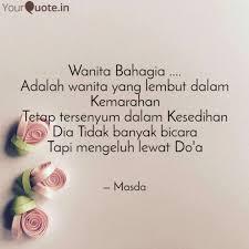 wanita bahagia adala quotes writings by masdalifah skm
