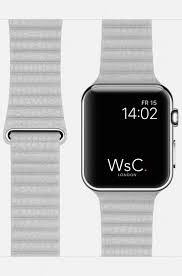 wsc leather loop apple watch strap